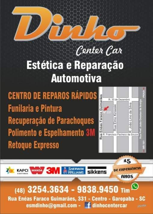 Dinho center car / chapeação e pintura automotiva