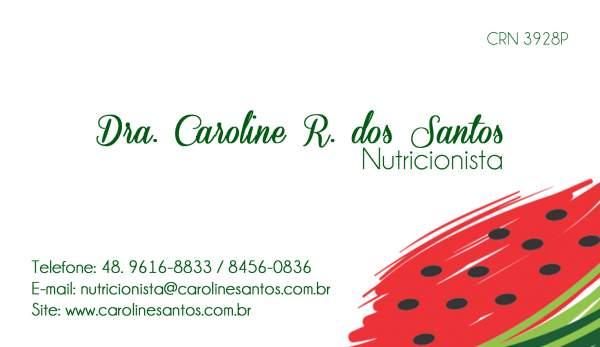 Dra. caroline r. dos santos