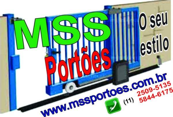 Mss portões - serralheria