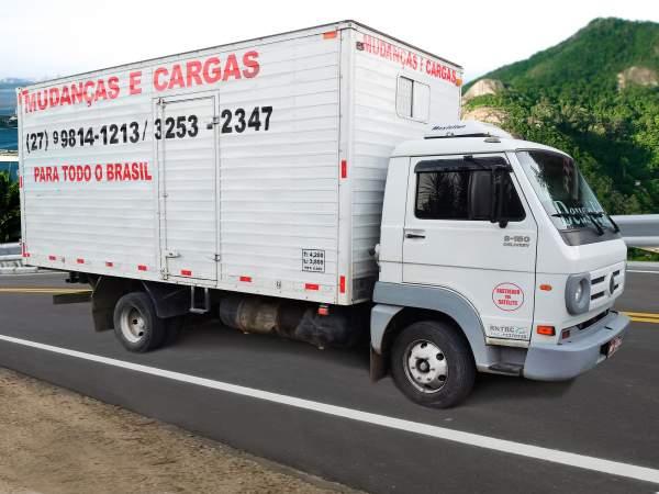 Mudanças e cargas para todo o brasil