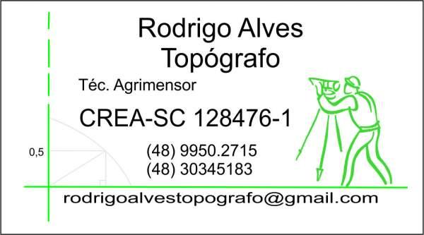 Rodrigo alves topografo