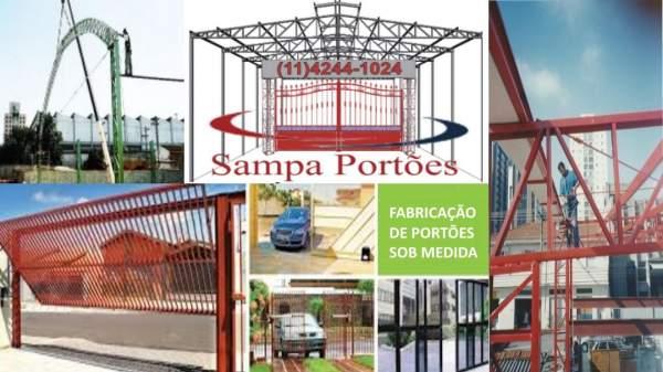 Serralheria sampa portões