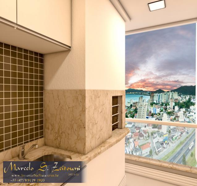 Apartamento com 2 Dormitórios à venda, 69 m² por R$ 335.000,00
