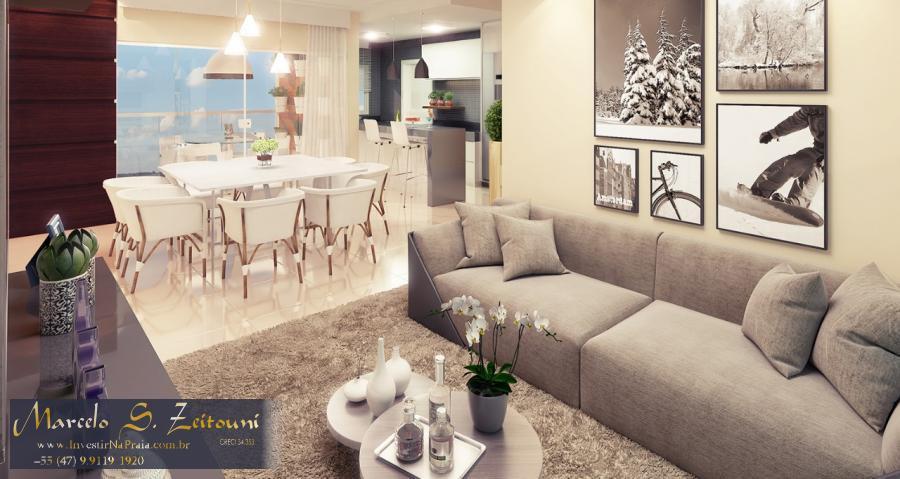Apartamento com 3 Dormitórios à venda, 114 m² por R$ 542.928,00