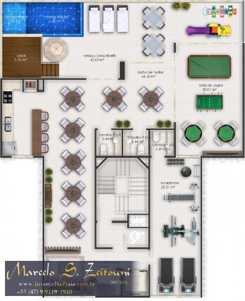 Apartamento com 2 Dormitórios à venda, 72 m² por R$ 470.000,00