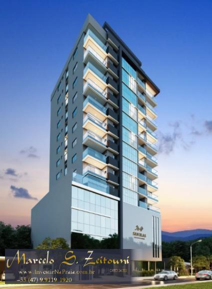 Apartamento com 2 Dormitórios à venda, 93 m² por R$ 480.000,00