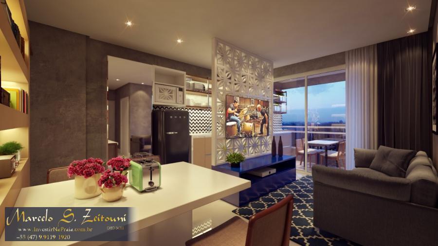 Apartamento com 2 Dormitórios à venda, 63 m² por R$ 394.000,00