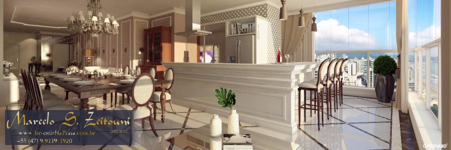 Apartamento com 4 Dormitórios à venda, 166 m² por R$ 2.710.000,00