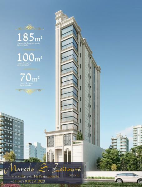Apartamento com 3 Dormitórios à venda, 99 m² por R$ 957.562,00