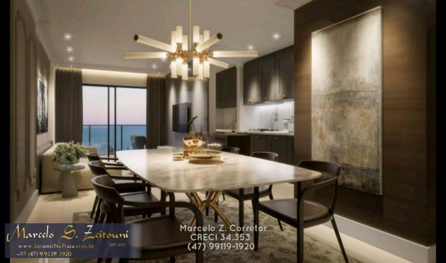 Apartamento com 4 Dormitórios à venda, 122 m² por R$ 695.600,00