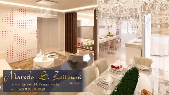 Apartamento com 3 Dormitórios à venda, 211 m² por R$ 585.000,00