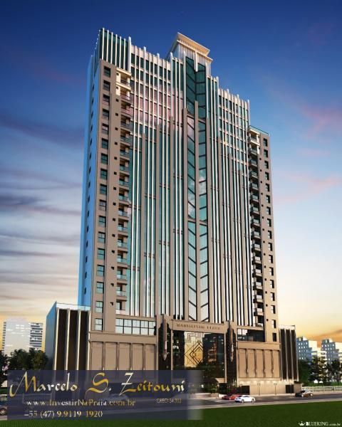 Flat com 1 Dormitórios à venda, 44 m² por R$ 385.000,00