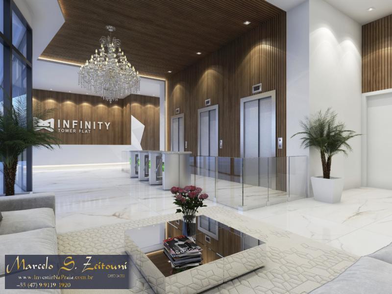 Flat com 1 Dormitórios à venda, 40 m² por R$ 405.981,00